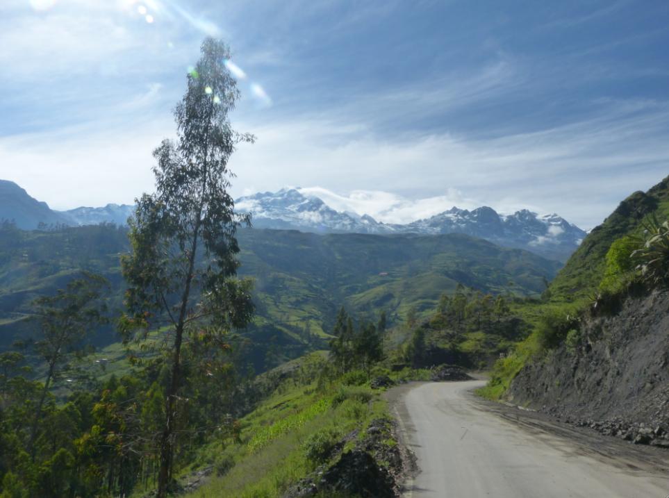 The Cordillera Real, Bolivia